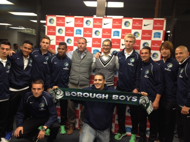Borough Boys With Team