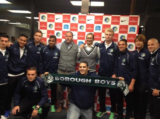 Borough Boys With Team