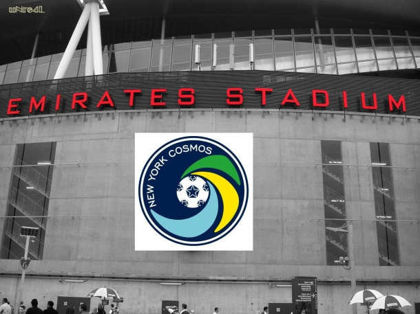 Could Emirates Stadium Be The Name Of The Cosmos Belmont Plans?