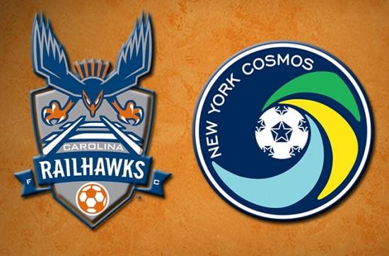 Carolina Railhaws Visit The NY Cosmos on 10/12