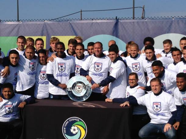 Cosmos with Fall Championship (Photo Courtesy of The Borough Boys)
