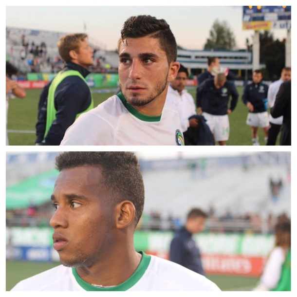 Sebastian Guenzatti & Diomar Diaz Reflecting On What Could Have Been The Clincher
