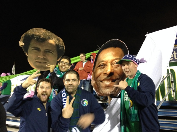 Pele Has A Friend In The Five Points Section Now!