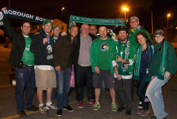 Danny Szetela Hanging With Fans (Photo Courtesy Of The Borough Boys)
