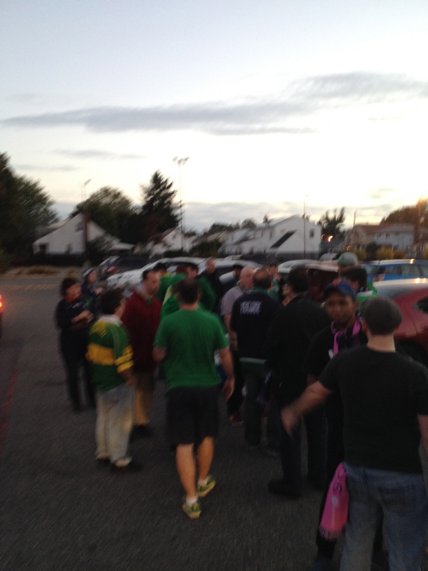 Tail-gate before the game!