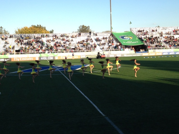 The Cosmos Girls With One Last Performance On Sunday!