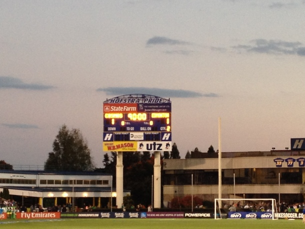The Unfortunate Final Glimpse Of Schuart Stadium For This Season!