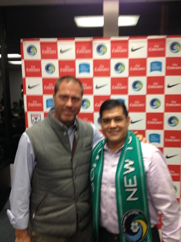 With Gio Savarese