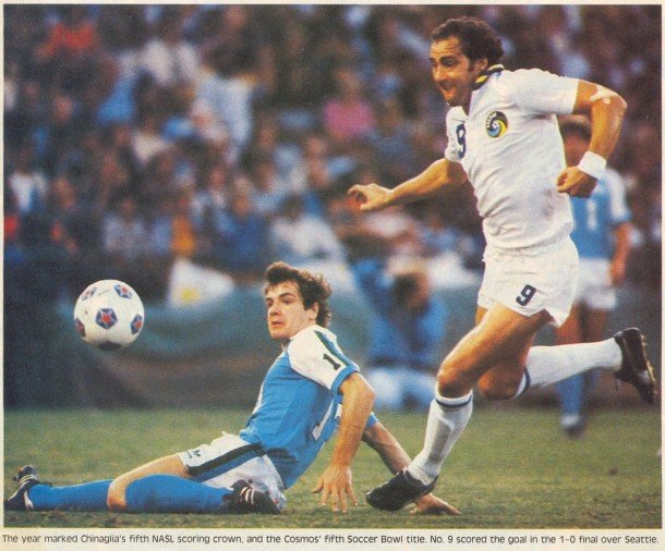 Giorgio Chinaglia Would Score The Only Goal Of The 1982 Soccer Bowl!