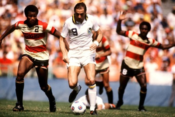 Giorgio Chinaglia Would Score Two Goals Against The Strikers In The 1980 Soccer Bowl