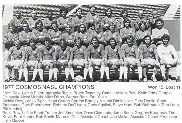 The Cosmos 1977 Championship Team!