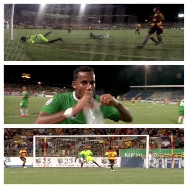 Great night by Diomar Diaz scoring two goals vs Strikers!