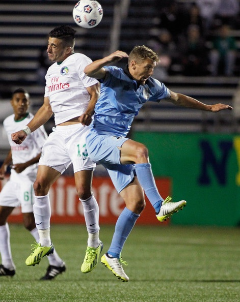 Guenzatti Header vs Minnesota Gives Cosmos 1-0 Win!  (Photo courtesy of NY Cosmos)