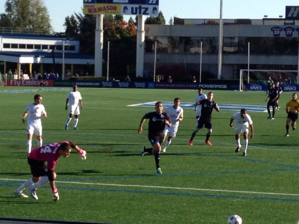 Kyle Reynish and a lot of starters have racked up plenty of minutes! (Photo by www.cosmossoccerfan.com)