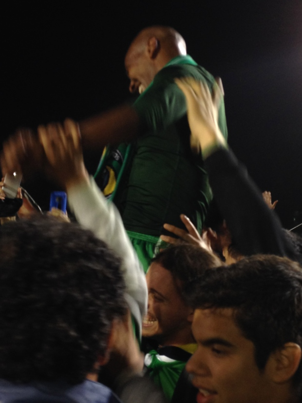 Carrying Marcos Senna and capitalizing a Wild & Crazy Cosmos Celebration