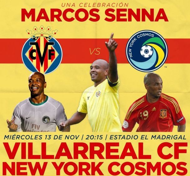Today The Cosmos Take On CF Villareal