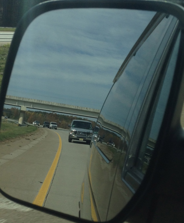 The View Of the 5 Five Points Vans Headed To Atlanta