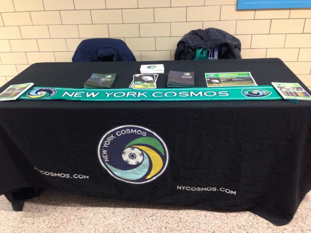 Cosmos Table at the tournament