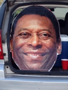 Pele (not just the head) will be at the home opener!