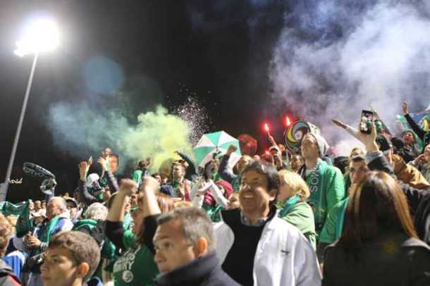 Chant & Cheer For 90 Minutes Strong As Part Of The Cross Island Crew! (Photo Credit - NY Cosmos)