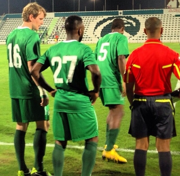 Many subs had a chance to play today including Dane Murphy, Jemal Johnson and Joseph Nane - photo credit NY Cosmos