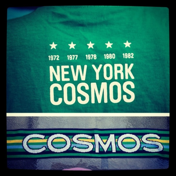 Cosmos Giveaways - Get yours in 2014! Photo by - cosmossoccerfan.com