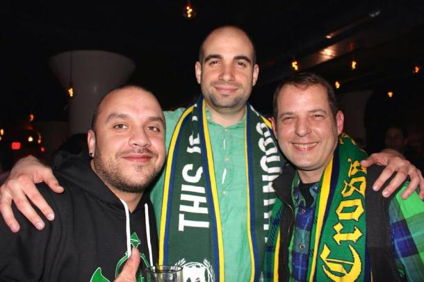 All Three Cosmos Supporters Groups Were Represented In Earnest On Friday Night! Photo Credit - Eytan Calderon