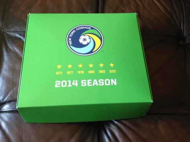 NY Cosmos Season Ticket Box