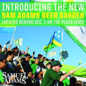 New for 2014 at Cosmos Home Games - The Beer Garden!