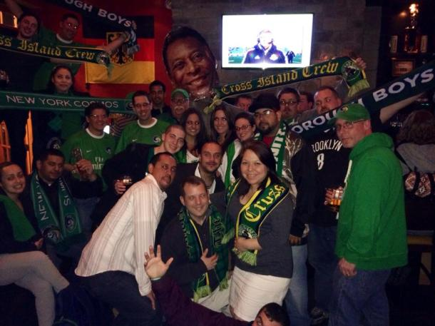 The Five Points Celebrated The NY Cosmos Victory At Prost On Saturday Night! Photo Credit - Eytan Calderon