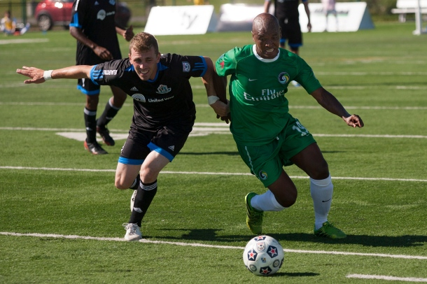Marcos Senna & the NY Cosmos are ready to battle FC Edmonton This Saturday!