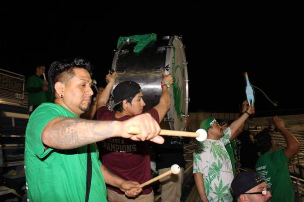La Banda Still Drumming! (photo credit - Eytan Calderon)