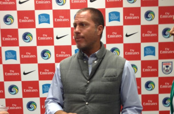 Coach Savarese Warned That Wednesday's match will be the most difficult one of this US Open Cup Tournament Photo Credit - Cesar Trelles