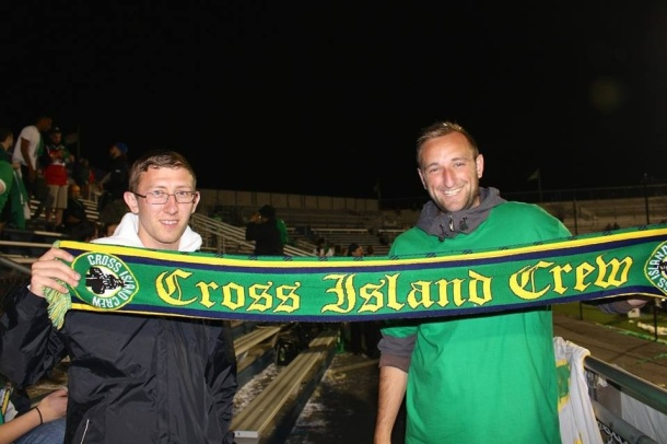 Make sure to get your Cross Island Crew Scarf! Photo credit - Eytan Calderon