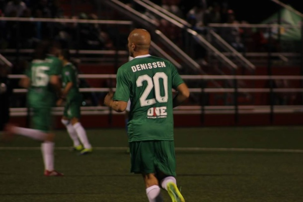 Hans Denissen made his NY cosmos debut on Wednesday as a substitute. Photo credit - Eytan Calderon