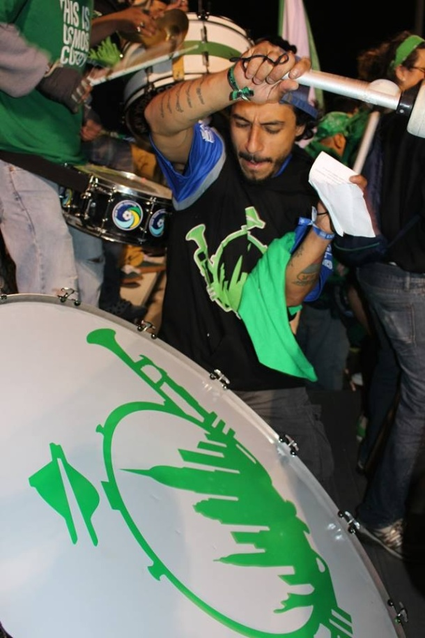 La Banda Del Cosmos never stops! Photo credit - Eytan Calderon