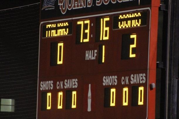 The score says it all Dos - Cero Cosmos! Photo credit - Eytan Calderon