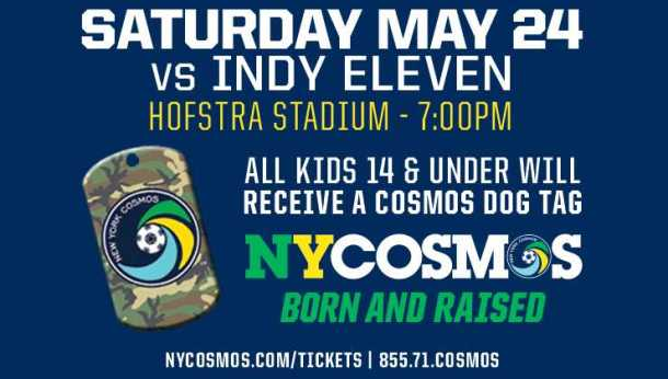 Cosmos Play Indy Eleven This Saturday At Schuart Stadium Photo Credit - NY Cosmos