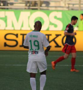 Senna Will Miss The Wednesday US Open Cup Match For The Cosmos. Photo Credit - Eytan Calderon