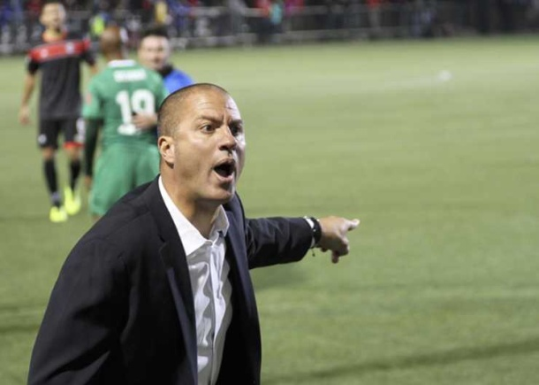 Head coach Savarese gives fans and club 100% every match
