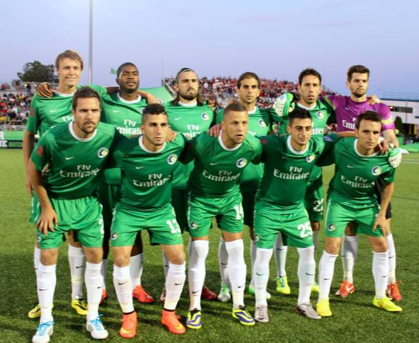 Team picture before historic match vs Red Bulls Photo Credit - Eytan Calderon