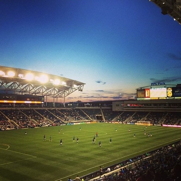 A Nice Shot of PPL Park - home of the Philadelphia Union! Photo Credit - Eytan Calderon