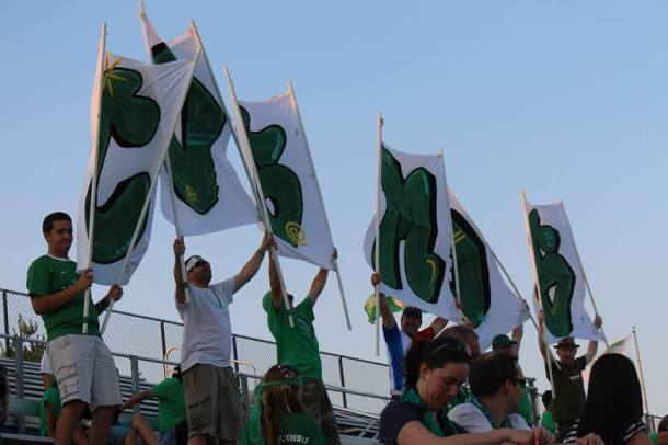 Cosmos Supporters make their mark no matter the score! Photo Credit - Eytan Calderon
