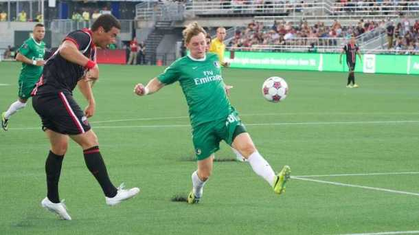 Dane Murphy got the start against the Ottawa Fury - Photo Credit - Jason Lind