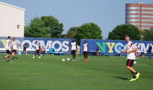 AC Milan Workout Out @ Mitchell Athletic Complex. Photo Credit - Cesar Trelles