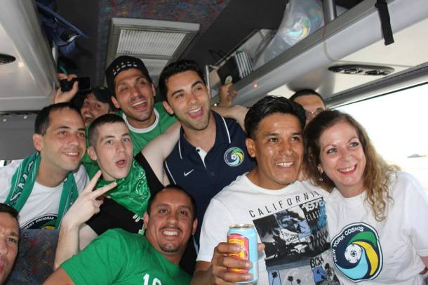 In the Bus On The Way To Philly! Photo Credit - Eytan Calderon