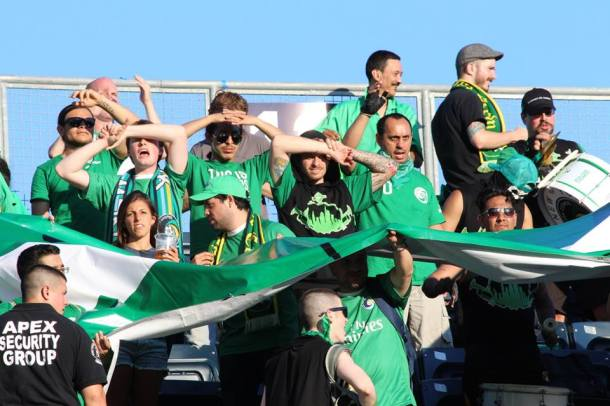 Cheering Loud In The Sun! Photo Credit - Eytan Calderon