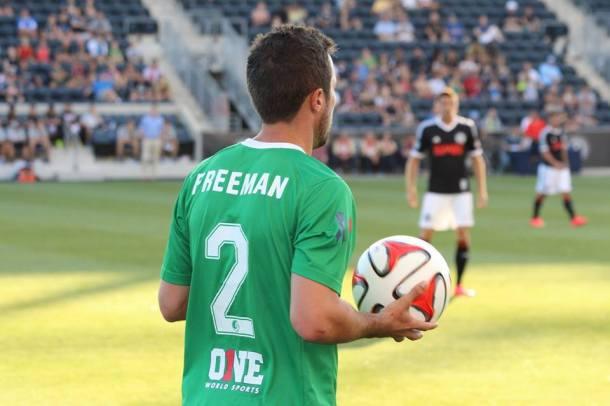 Hunter Freeman Getting Ready To Throw In! Photo Credit - Eytan Calderon