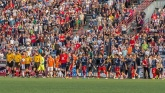The Indy Eleven continue to draw over 10,000 fans for each hem match. Photo credit - indy eleven.com