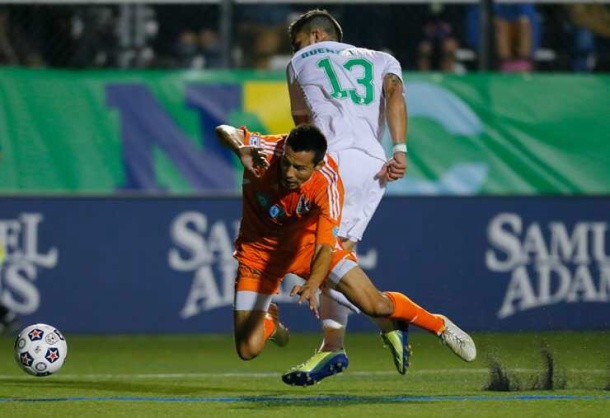 Seba Guenzatti leads the Cosmos with three goals this season. Will he add ore against the Railhawks?